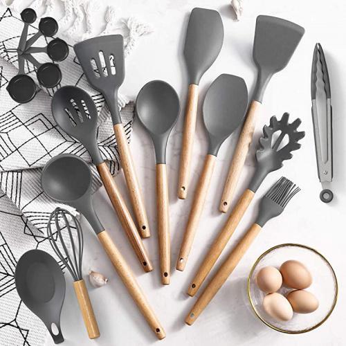24 pcs non-Stick Silicone Cuisine Set Umite Chef Cuisine Ustensiles de cuisson Set