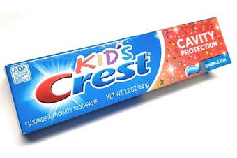 Kids Crest Cavity Protection Toothpaste - 70ml Kids Size - Sugar Free Sparkle Fun Flavour