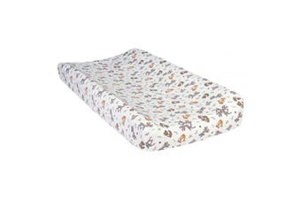 Trend Lab Deluxe Flannel Changing Pad Cover, Forest Nap