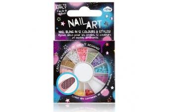 (Sequin) - Nail Art Wheel - Sequin