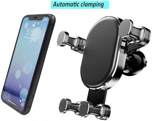 Pixel 3 XL and All Phones Note 10 Samsung Galaxy S20//S10+//S9//S9+//S8 Sungmir Air Vent Car Mount Universal Phone Holder Cradle Car Phone Stand Compatible with iPhone 11//11 Pro//Xs//XS Max//8//7// 6