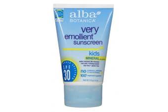 (SPF 30 (Sensitive)) - Alba Botanica Sensitive Sunscreen SPF 30, Fragrance Free, 120ml