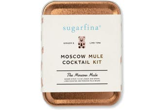 (Single, Sugarfina Moscow Mule) - W & P Carry On Cocktail Kit, Sugarfina Moscow Mule| Travel Kit for Drinks on the Go, Craft Cocktails, TSA Approved