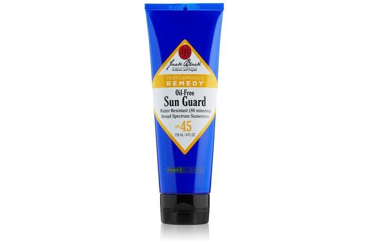 Jack Black Sun Guard Very Water Resistant Sunscreen SPF 45 4 oz / 118 ml