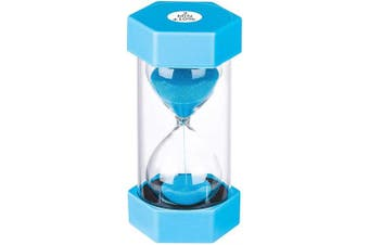 (2 min, Blue) - Sand Timer 2 Minute Hourglass Timer: Colourful Sand Clock 2 Minute, Small Blue Sand Watch 2 Minute, Plastic Hour Glass Sandglass Timer for Kids, Games, Decorative, Classroom, Kitchen, Toothbrush Timer