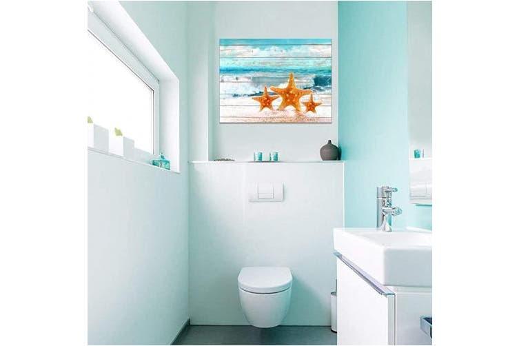 41cm X 60cm Starfish Ocean Home Decor Bathroom Wall Decor Board Beach Sea Starfish Wall Art