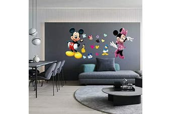 Kibi Wall Stickers Mickey Mouse Wall Stickers Kids Bedroom Mickey Mouse Wall Stickers Minnie Mouse Mickey Mouse and Friends Wall Stickers