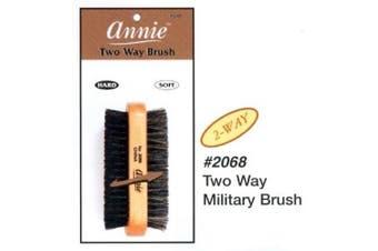 2 Way Military Brush 2068 (100% Boar/reinforced Bristle)