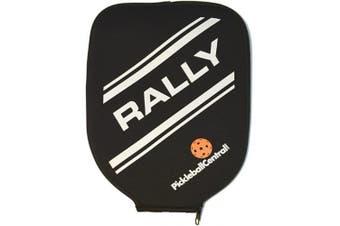 (Black/Rally) - Neoprene Pickleball Paddle Cover