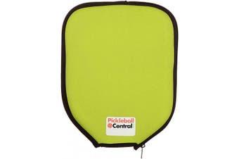 (Lime) - Neoprene Pickleball Paddle Cover