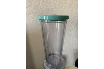 Reusable Boba Bubble Smoothie Cup | Leakproof Tumbler with Lid and Reusable Straw (710ml)