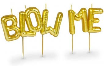 (BLOW ME) - Fred & Friends FANCY THAT PARTY CANDLES, Set of 8, BLOW ME