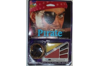 Pirate Halloween Makeup Kit
