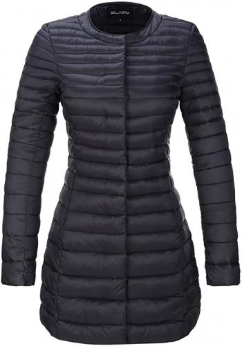 (Small, Black7148) - Bellivera Women's Quilted Lightweight Padding Jacket, Puffer Coat Cotton Filling with 2 Pockets Size: SmallColour: Black7148 winter coat for women for Spring Fall and Winter,Water Resistant,prime wardrobe womens clothing,womens clothing clearance sale,Suit for Valentin's Day Gift Gifts for Her.Mother's day Her.Moten's Day Her.Mott day delivery gifts