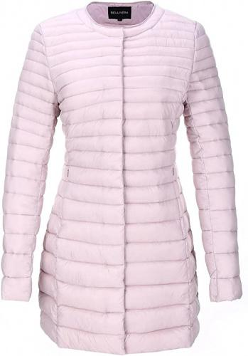 (X-Large, Pink7148) - Bellivera Women's Quilted Lightweight Padding Jacket, Puffer Coat Cotton Filling with 2 Pockets Size: X-LargeColour: Pink7148 winter coat for women for Spring Fall and Winter,Water Resistant,prime wardrobe womens clothing,womens clothing clearance sale,Suit for Valentin's Day Gift Gifts for Her.Mother's day Her.Moten's Day Her.Mott day delivery gifts