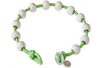 (Lime Green and Silver) - Golf Goddess Stroke/Score Counter Cord Bracelet