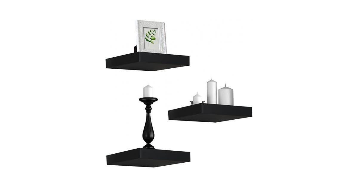 shoptheglobe sorbus floating shelves hanging wall shelves decoration perfect trophy display photo frames black 61 au