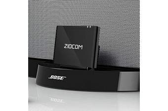 ZIOCOM Z12 Pro Bluetooth aptX Adapter Receiver for Bose Sounddock III/XT,JBL MS302GM, Philips DS1155B 93 with Music Dock Station