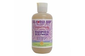 California Baby Overtired and Cranky Shampoo and Bodywash -- 250ml