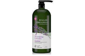 (Lavender) - Avalon Organics Nourishing Lavender Shampoo, 950ml
