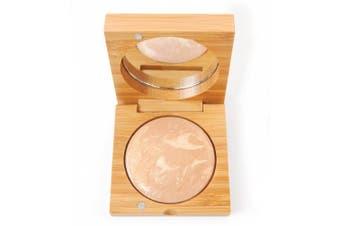 (Medium Beige) - Natural Baked Terracota Wet/dry Foundation Medium