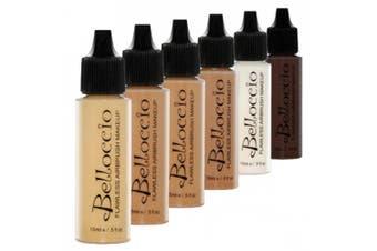 Belloccio Tan Colour Shades Airbrush Makeup Foundation Set