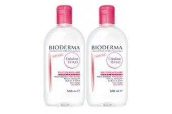 Bioderma Crealine TS H2O Micelle Solution 2 x 500ml