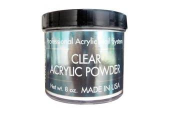 Clear Acrylic Powder 240ml