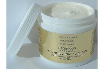 GOLDEN SUNDROPS PURE MAGIC LUXURIOUS FACE AND BODY SKIN REJUVENATING CREAM