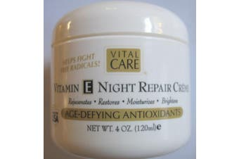 Vital Care Vitamin E Night Repair Creme Age-defying Antioxidants 120ml