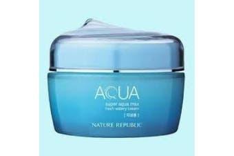 Nature Republic Super Aqua Max Fresh Watery Cream 80ml for oily skin type