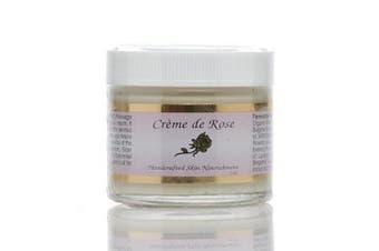 Creme de Rose Heavenly Facial Moisturiser 60ml by Simply Divine Botanicals