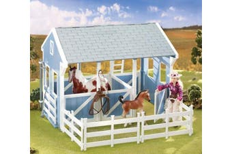 (Country Stable with Wash Stall) - Breyer Classics Country Stable with Wash Stall
