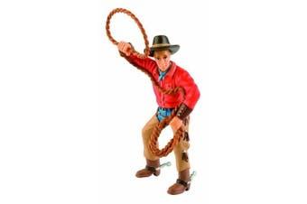 Bullyland Cowboy with Lasso Figurine