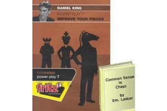 Power Play 7: Improve Your Pieces Chess Training Software and Common Sense in Chess E-Book Bundle: 2 Items