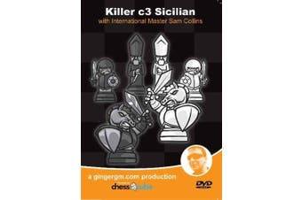Killer c3 Sicilian - IM Sam Collins Chess Video DVD