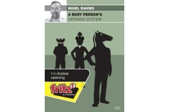 A Busy Person's Opening System Chess DVD