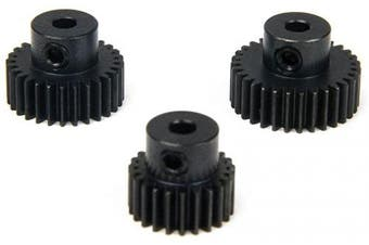 Atomik RC Performance Speed Tuned Pinion Gear Set fits the Traxxas 1/16 Slash 4x4 and Other Traxxas Models, includes 23T, 28T, and 31T Pinions
