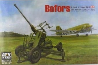 AFV Club 35187 Bofors 40mm AA British 1:35 Plastic Kit