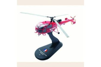 Aerospatiale Alouette III diecast 1:72 helicopter model
