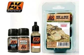 AK Interactive OIF & OEF US Weathering Set # 00120