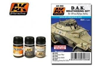 AK Interactive Africa Korps Weathering Set # 00068