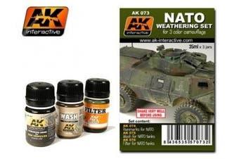 AK Interactive Nato Weathering Set # 00073
