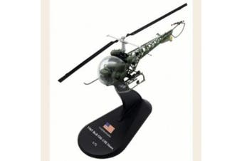 Bell OH-13 Sioux diecast 1:72 helicopter model