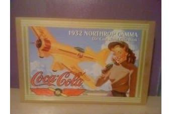 Coca Cola 1932 Northrop Gamma Die Cast Bank