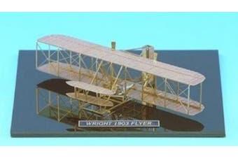 Wright 1903 Flyer - Brass Model Aeroplane Kit (1:160) Scale