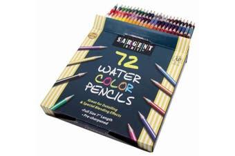 Watercolour Pencils 72/Pkg