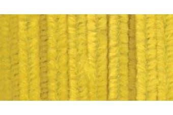 """(Yellow) - Chenille Stems 6mmX12"""" 25/Pkg"""