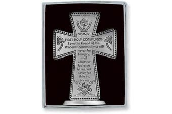 Cathedral Art SQP101 First Holy Communion Standing Message Cross, 7.6cm