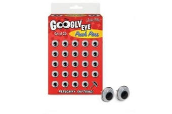 Googly Eyes Push Pins by Accoutrements - 12373
